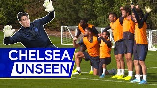 Michy Batshuayi Was on 🔥During This Hilarious Chelsea Training Session! 🤣 | Chelsea Unseen
