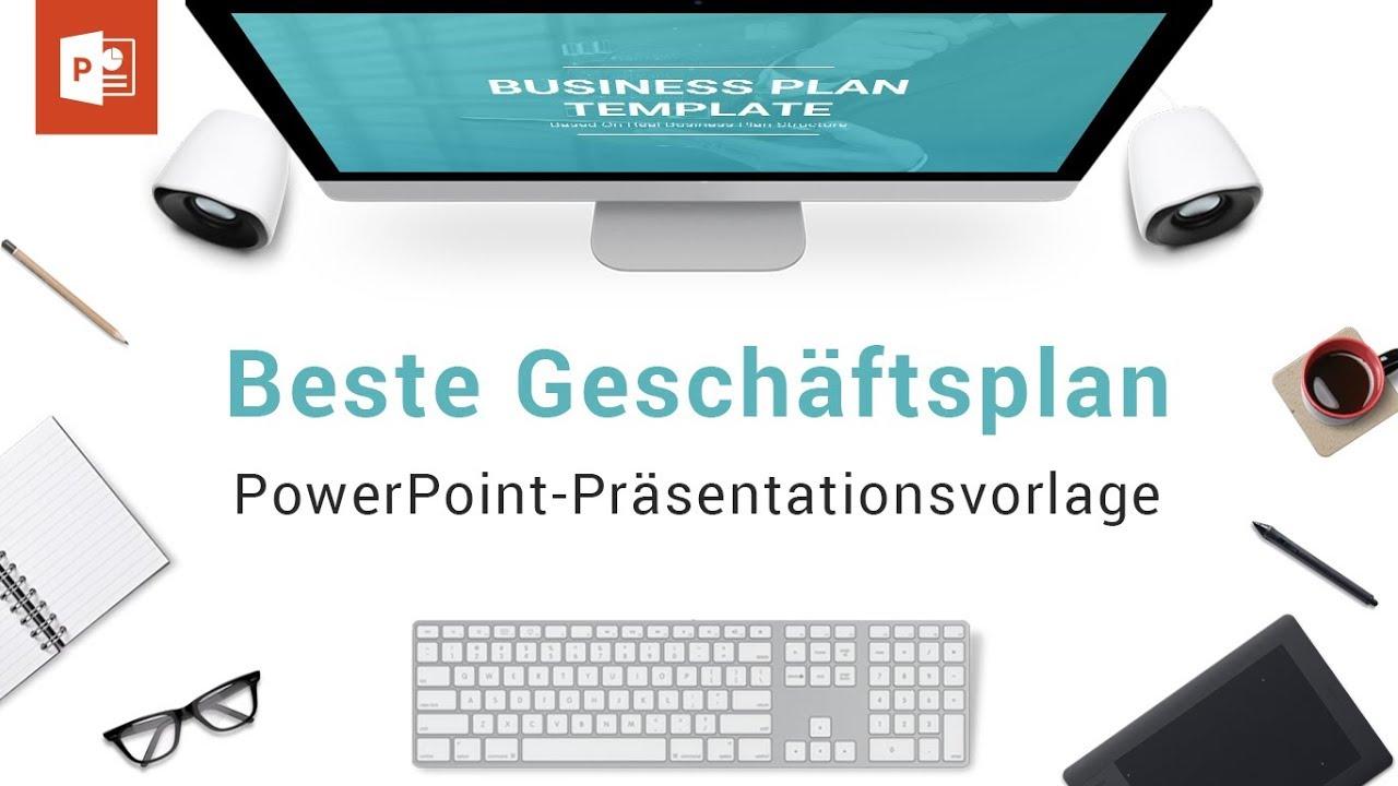 Beste Geschäftsplan-PowerPoint-Präsentationsvorlage - YouTube