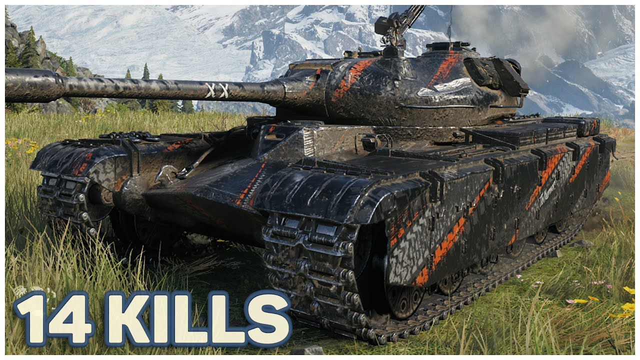 50TP prototyp – 14 KILLS NOT ENOUGH TO WIN