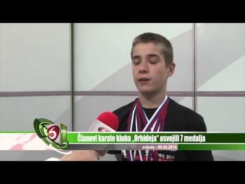 "Članovi karate kluba ""Orhideja"" osvojili 7 medalja  Kanal 6 Sport"