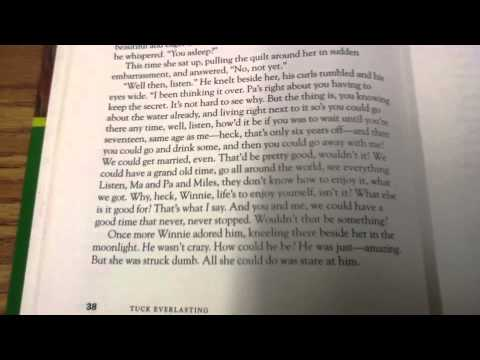 tuck everlasting summary book report Tuck everlasting (2002) on imdb: plot summary, synopsis, and more.