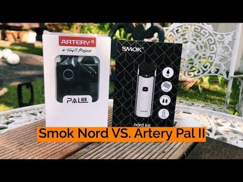 SMOK NORD V ARTERY PAL 2 (COMPARISON)(BEST POD SYSTEM OF 2018)