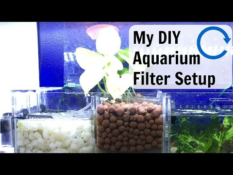 My DIY Aquarium Filter Setup