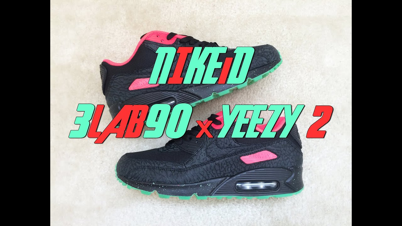 Review #19 | NiKEiD Air Max 90 | 3LAB90 x Yeezy 2 | 2014