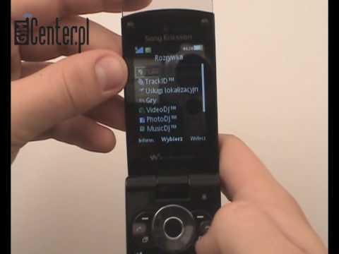 Prezentacja telefonu Sony Ericsson W980i