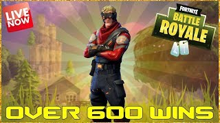 FORTNITE BATTLE ROYALE - WE HIT 10K - LAST STREAM OF 2017 - 604 WINS - (PS4 PRO) Full HD