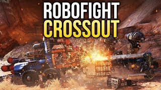 Crossout Robofight: ДРУЖОК МАРК ДВА vs ГРОЗНЫЙ ВИКИНГ
