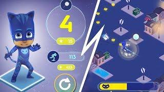 PJ Masks App | Super City Run  | 10min Play as PJ Masks | Game for Kids thumbnail