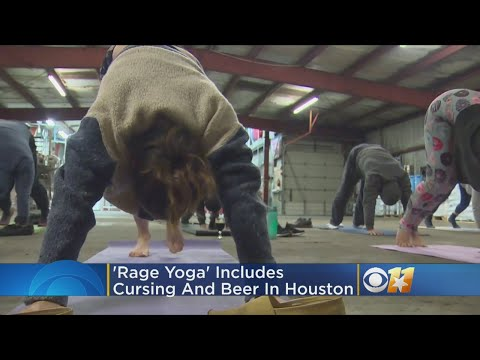 Rage Yoga Is Your Anti-Zen Meditation Fueled by Beer and Profanity