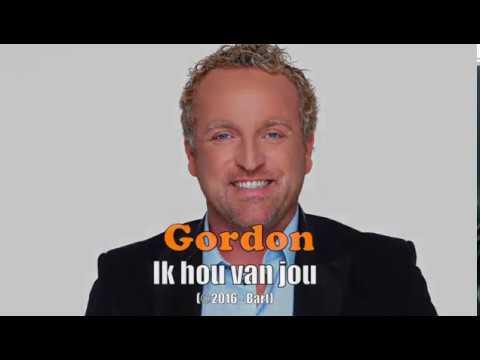 Gordon - Ik hou van jou (Karaoke)