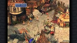 Final Fantasy IX Tutorial jumping rope (1000 Jumps)