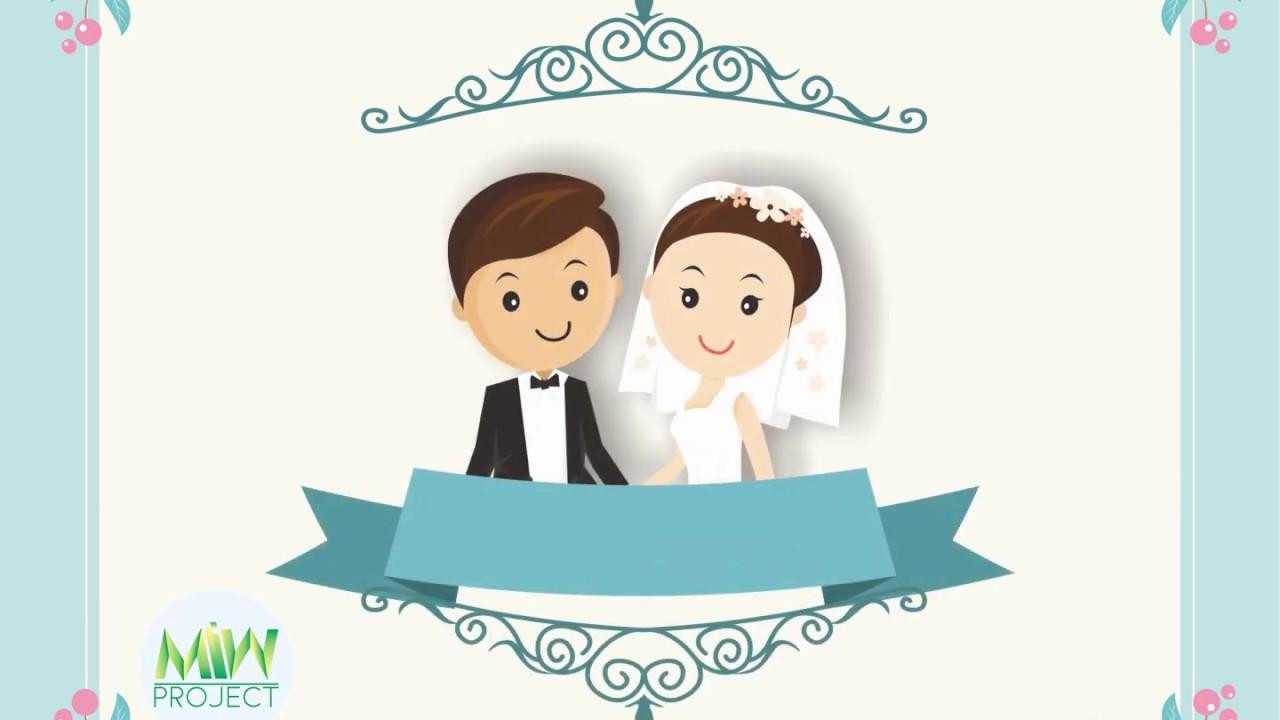Gratis Template Undangan Ppt Pernikahan Kosong Tanpa Nama Youtube