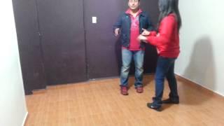aprende a bailar los pasos basicos de la cumbia en pareja 1 principiantes