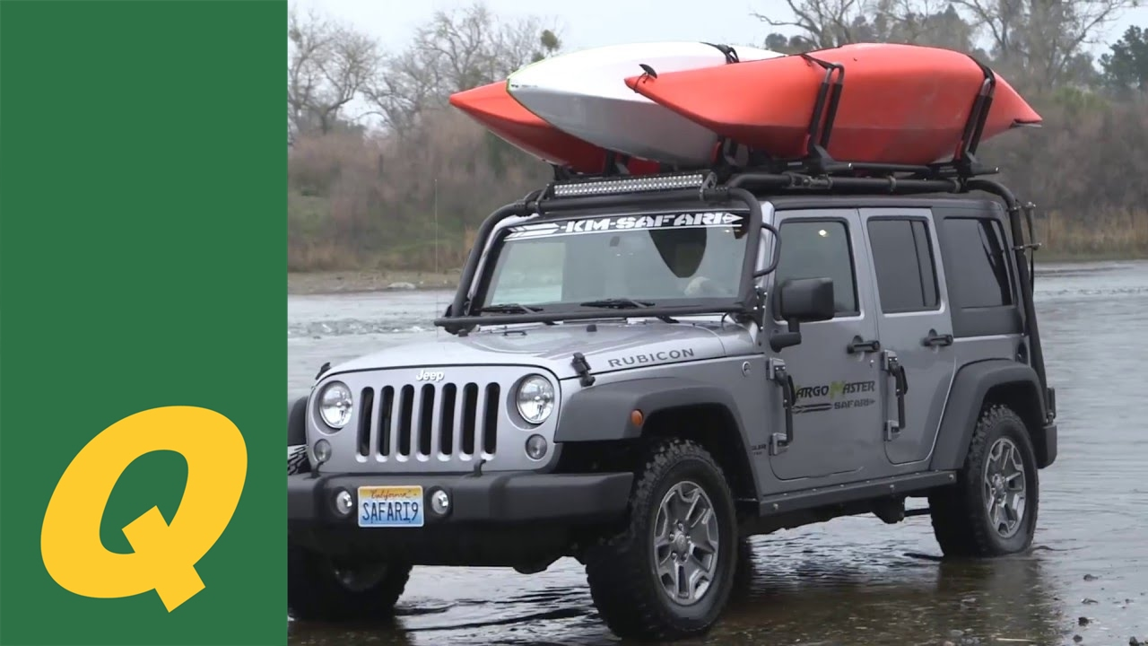 Congo Pro Roof Rack System for Jeep Wrangler JK and JKU