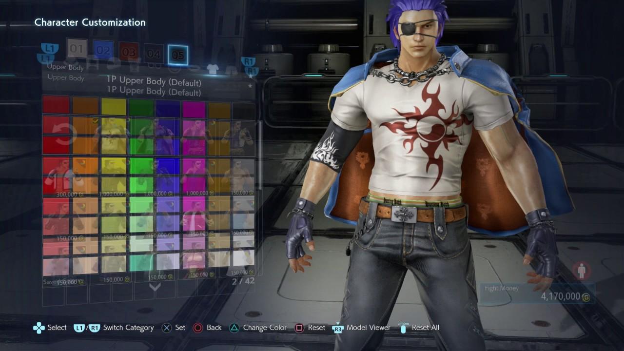 Tekken 7 Hwoarang Customization Showcase Amp Changing