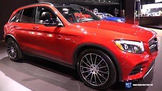 2017 Mercedes AMG GLC Class GLC 43 SUV - Exterior and Interior Walkaround - 2016 LA Auto Show