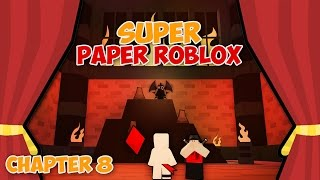 SCRIPTLISS VS 1x1x1x1 (Super Paper Roblox: Ch. 8 Part 3)