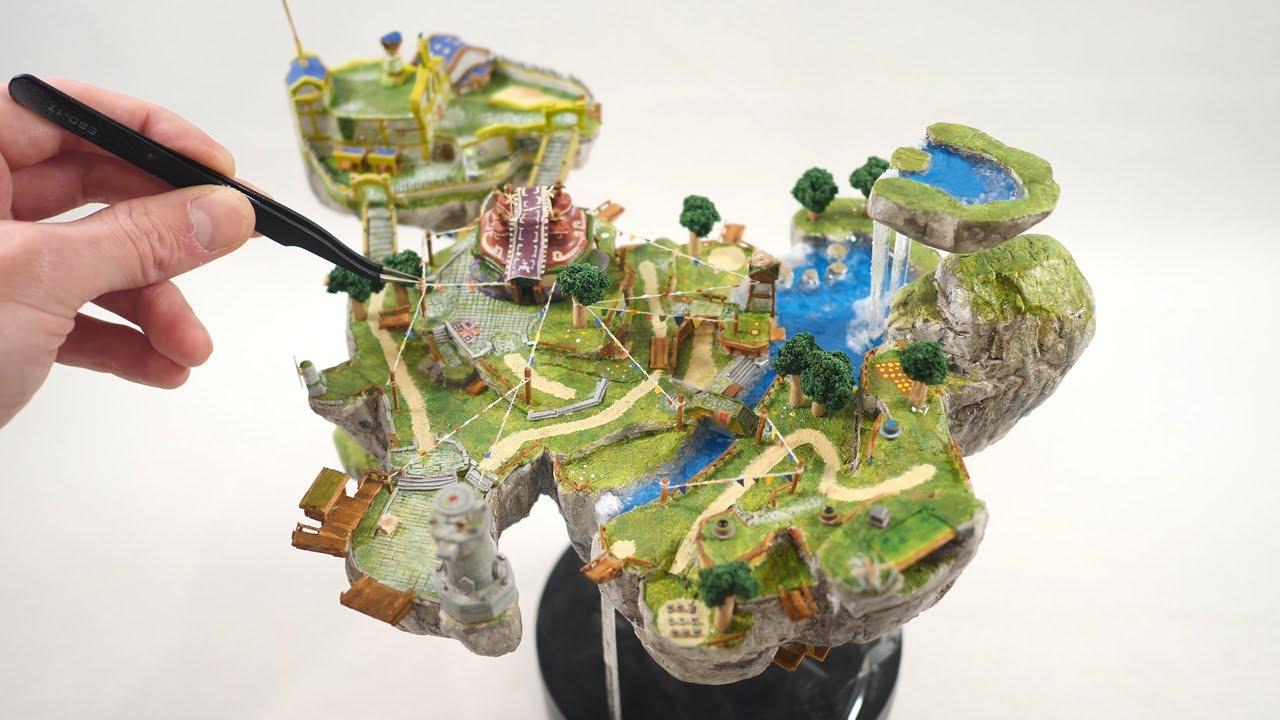 How to make a tiny SKYLOFT from SKYWARD SWORD / Legend of Zelda