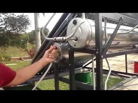Purificador de Agua con Energía Solar