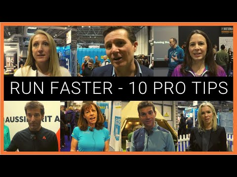 How to run faster - 10 pro tips from Paula Radcliffe, Roger Black, Jo Pavey, Mark Webber & more! from YouTube · Duration:  10 minutes 56 seconds