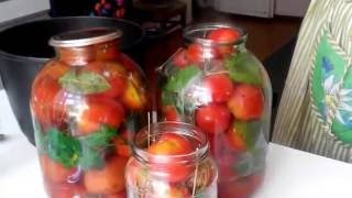 Консервирование помидоров на зиму¦ Маринад для помидоров canning tomatoes