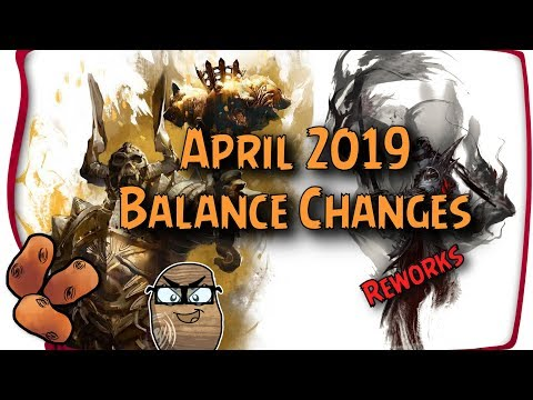Berserker & Salvation Reworks | April 2019 Balance Preview With Boots