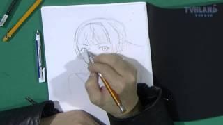 Démonstration de dessin de yusuke kozaki