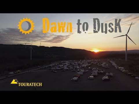 Dawn to Dusk enduro 2017, from Walters Arena, South Wales