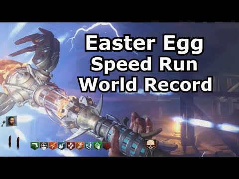 Origins Easter Egg SpeedRun World Record Solo 1:01:05 Black Ops 3 PS4