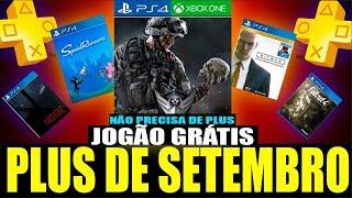 SURPRESA DA SONY, JOGOS GRÁTIS PSN PLUS SETEMBRO 2018 ? & Avatar Grátis CORREEE! (Notícias PS4/XBOX)