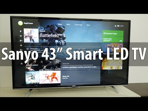 """Sanyo 43"""" XT-43S8100FS LED Smart TV with IPS Panel Overview"""