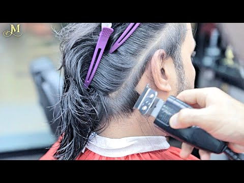 amazing-crafts-★-best-hairstyle-for-men-|-long-hair-|-keratin-hair-treatment!
