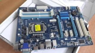 Unboxing placa madre Gigabyte Z77-DS3H hasta 32GB