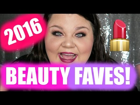 2016 BEAUTY FAVES!! Makeup//Skincare//Hair//Brushes! + PEACH PALETTE GIVEAWAY!! || ♡