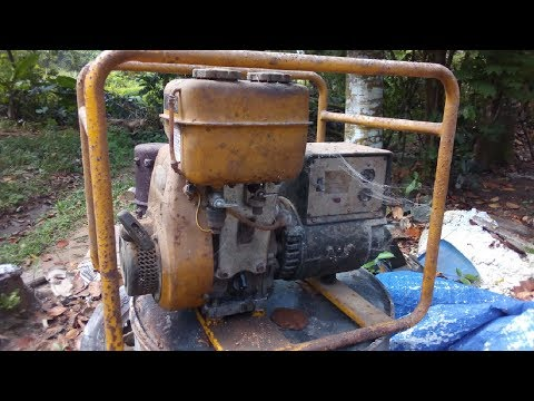 Robin EY18 Generator Restoration | Generator Restoration all parts