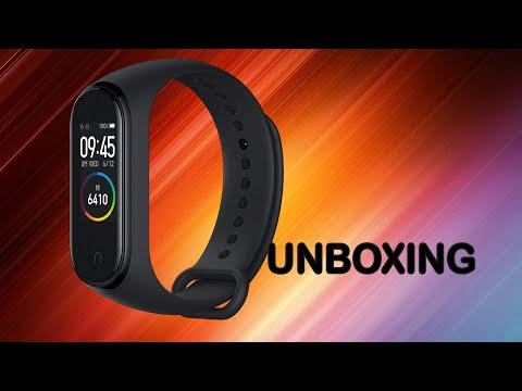 Xiaomi MI Band 4 NFC. Unboxing/Распаковка
