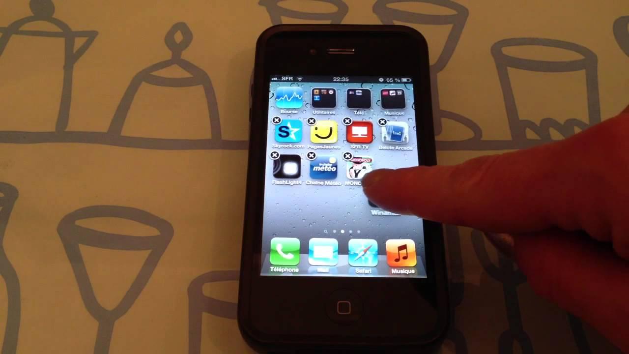 Creer Un Dossier Sur Iphone Astuce Rangement Idevice Youtube