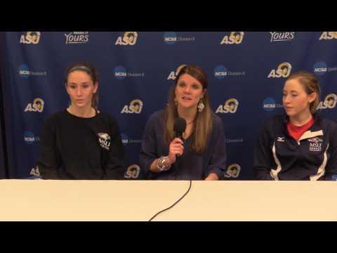 MSU Denver Volleyball Press Conference -  NCAA vs Mesa