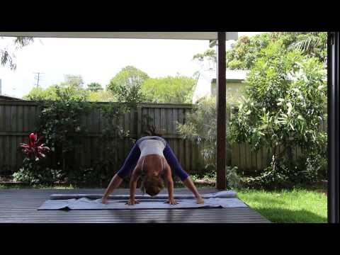 Anusara Style Home Practice Yoga Sequence Part 1