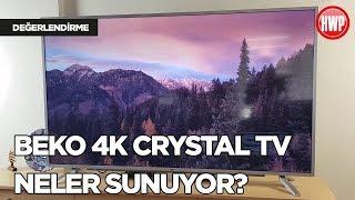 65 inç Beko 4K Crystal TV neler sunuyor?
