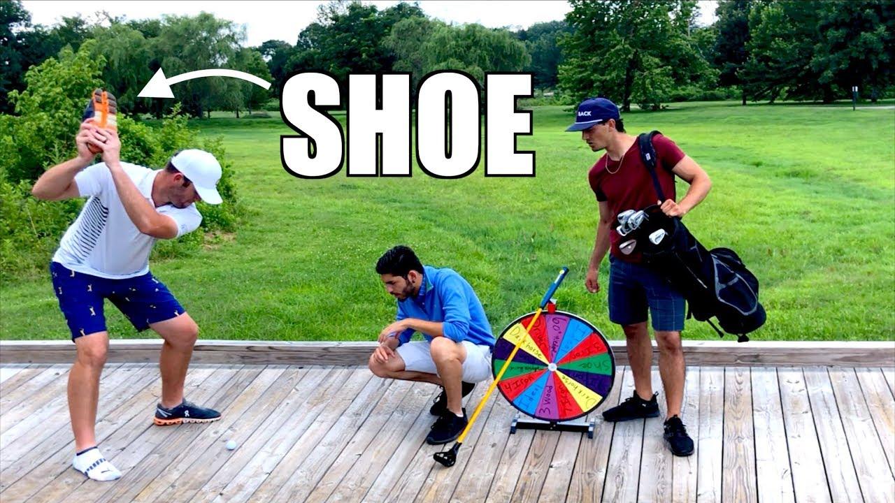 Wheel of Not Ideal Feat. Brodie Smith | Random Golf Challenge