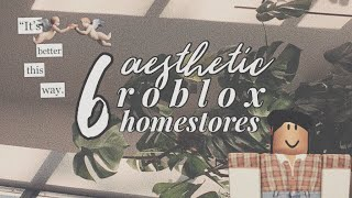 6 Roblox Aesthetic Homestores