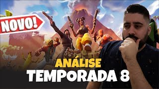 FORTNITE-WAS IT WORTH THE BATTLE PASS OF SEASON 8?? | Analyse des peaux, des danses et des gestes