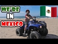 KID ILLEGALLY RIDING QUADS IN MEXICO!