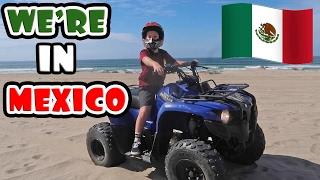KID RIDING QUADS IN MEXICO!
