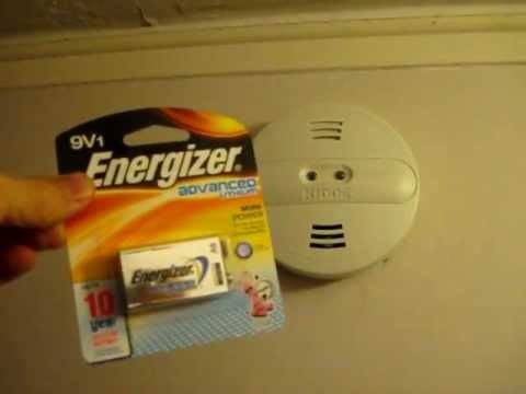 How To Change Your Smoke Detector Battery Including Hard Wired