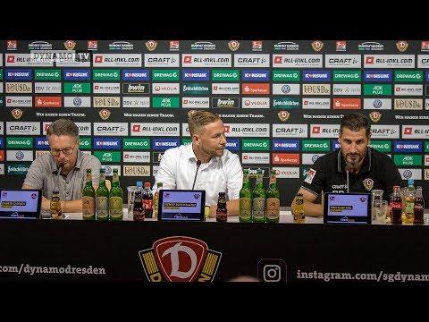 1. Spieltag | SGD - FCN | Pressekonferenz nach dem Spiel