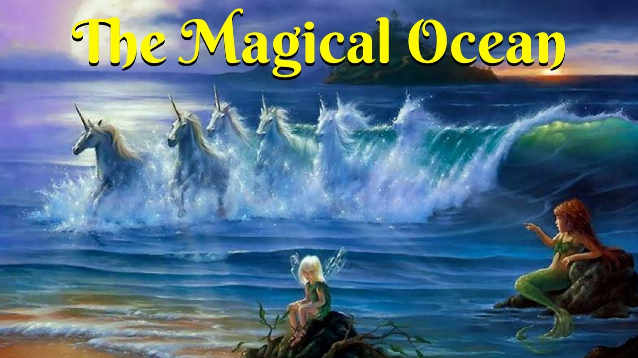 Bedtime Meditation Music for Kids   THE MAGICAL OCEAN ...