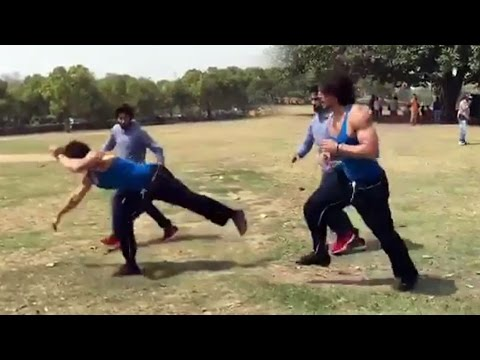 Tiger Shroff's Breathtaking Stunt For Munna Michael - Watch Video