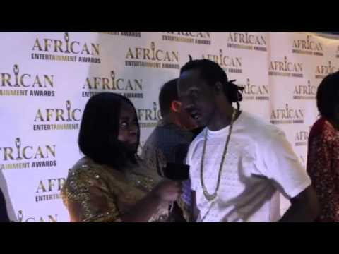 PLAYBAK MAGAZINE AT AFRICAN MUSIC AWARDS CANADA WITH BEBE COOL
